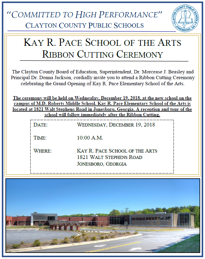 Kay Pace Ribbon Cutting