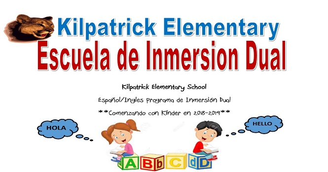 Immersion Flyer Spanish
